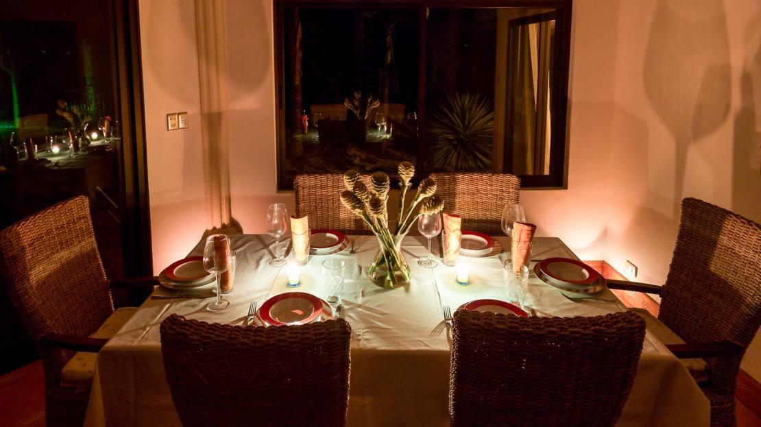 Villa 3_Candle Light Dinner